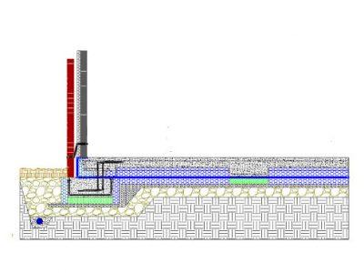 NHBC Compliant - Monobeam section Brick & Block